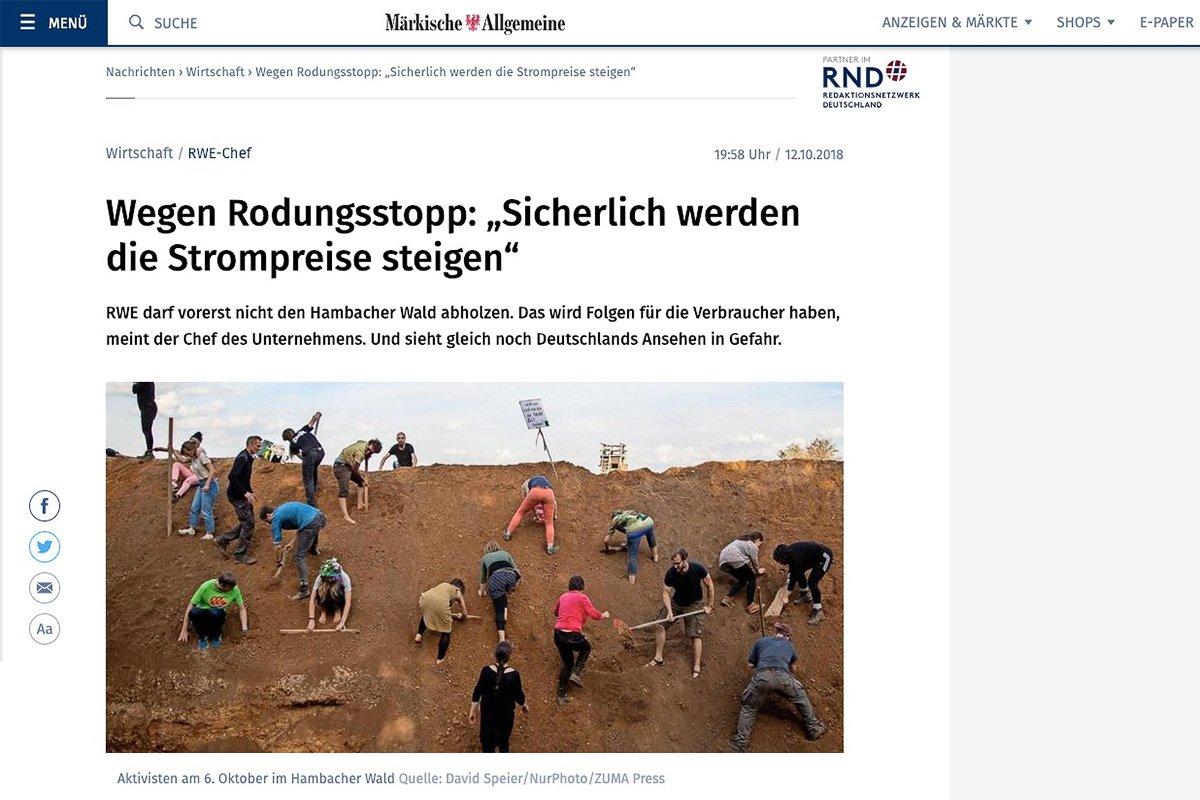 12.10.18 Märkische Allgemeine