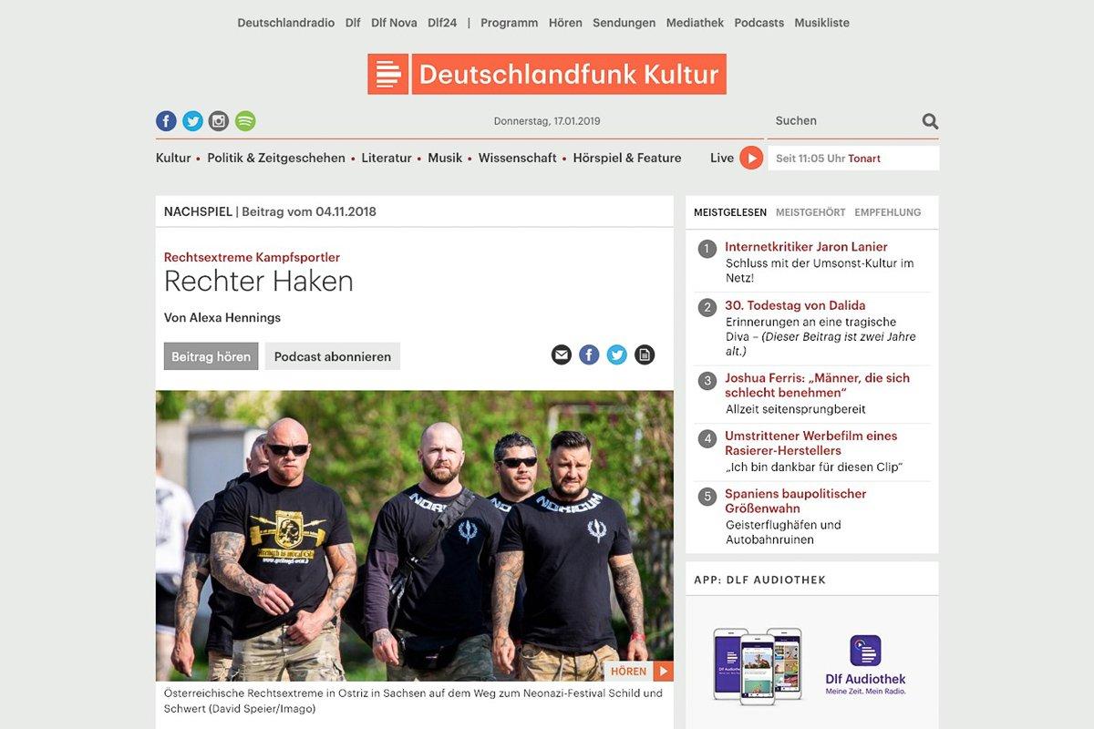04.11.18 Deutschlandfunk Kultur