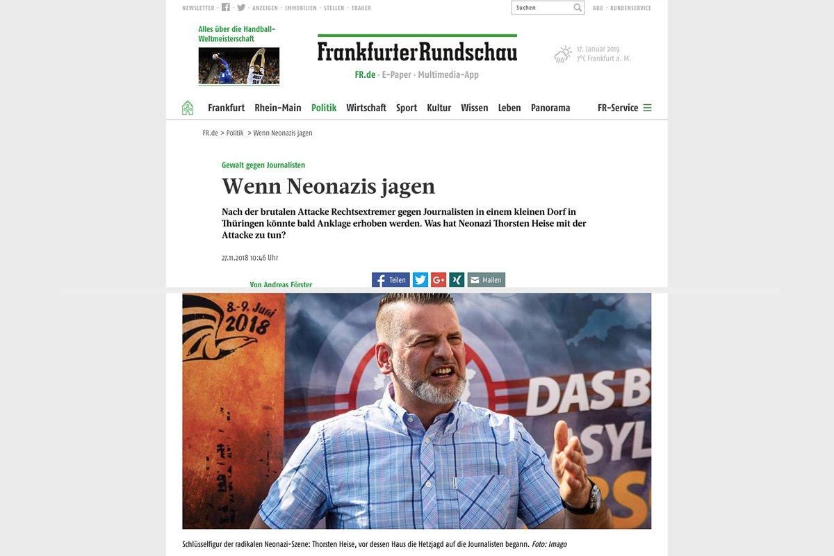 27.11.18 Frankfurter Rundschau