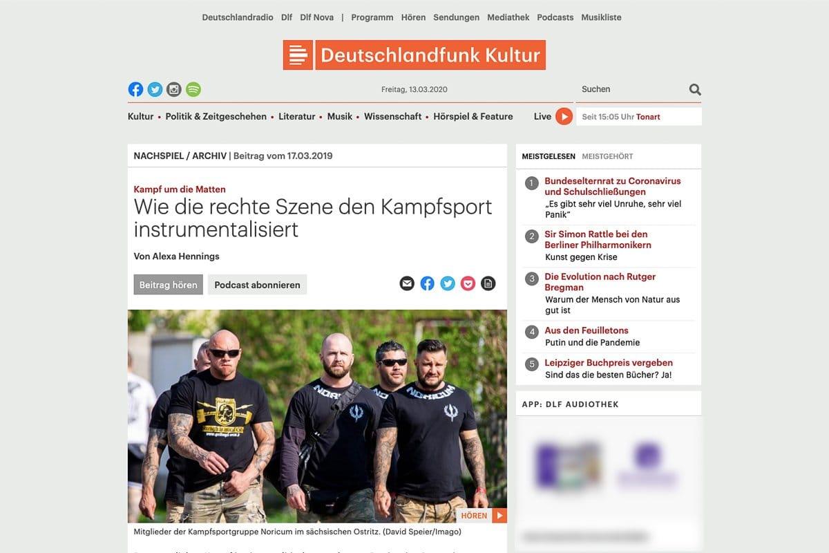 17.03.19 Deutschlandfunk Kultur
