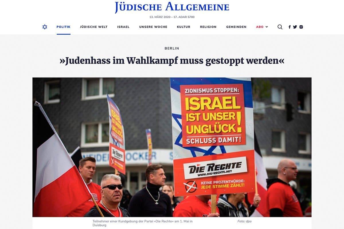 19.05.19 Jüdische Allgemeine